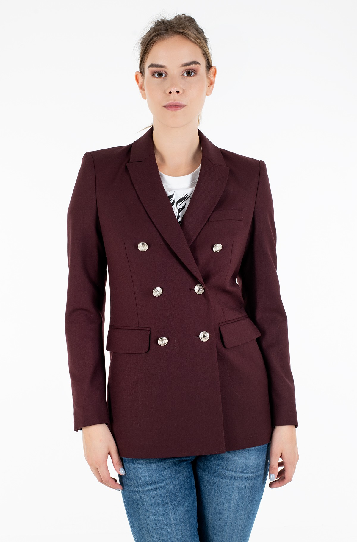 Pintsak ICON WOOL DB BLAZER-full-2