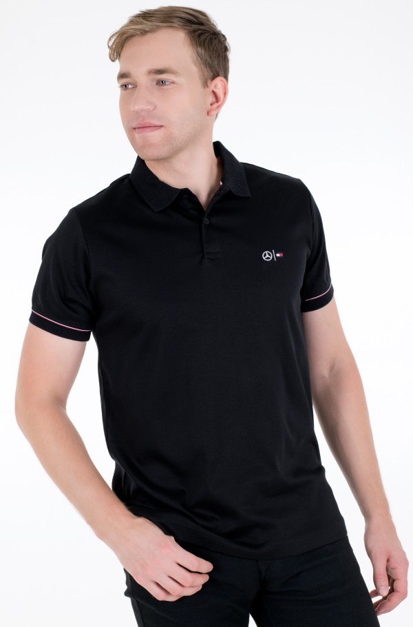 2 MB MESH COLLAR POLO