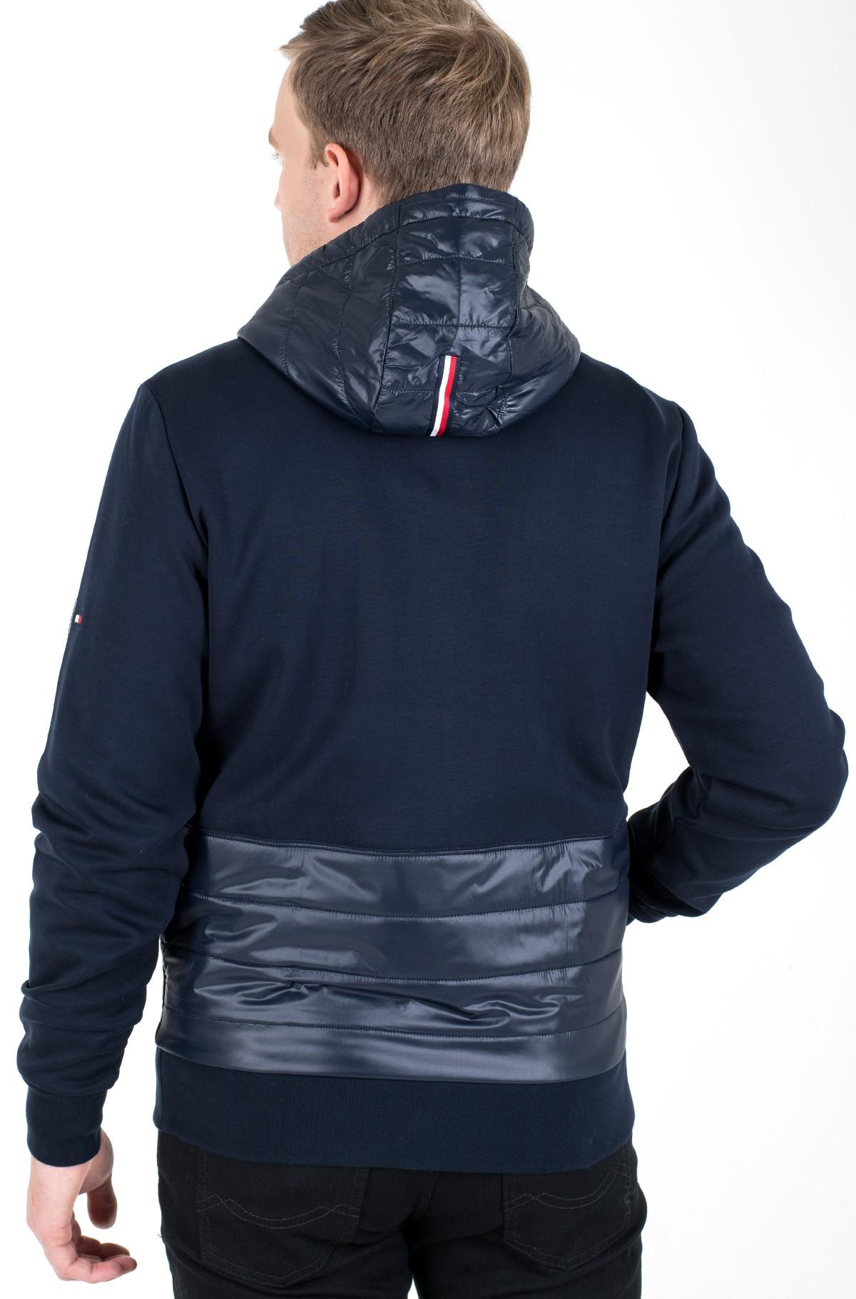 Sporta džemperis 2 MB MIXED MEDIA ZIP THRU HOODY-full-3