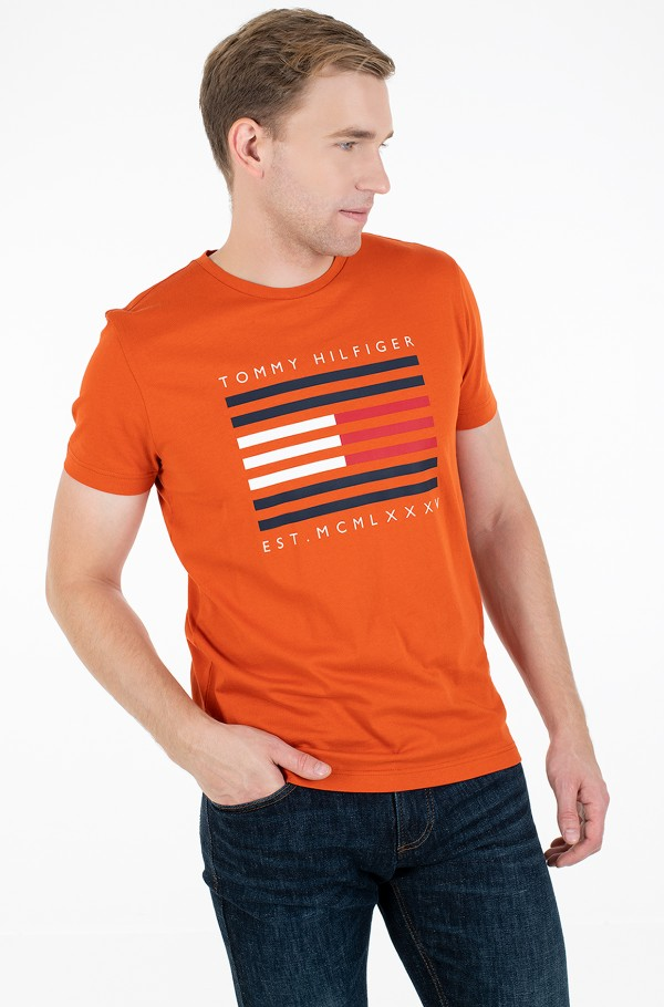 CORP FLAG LINES TEE-hover
