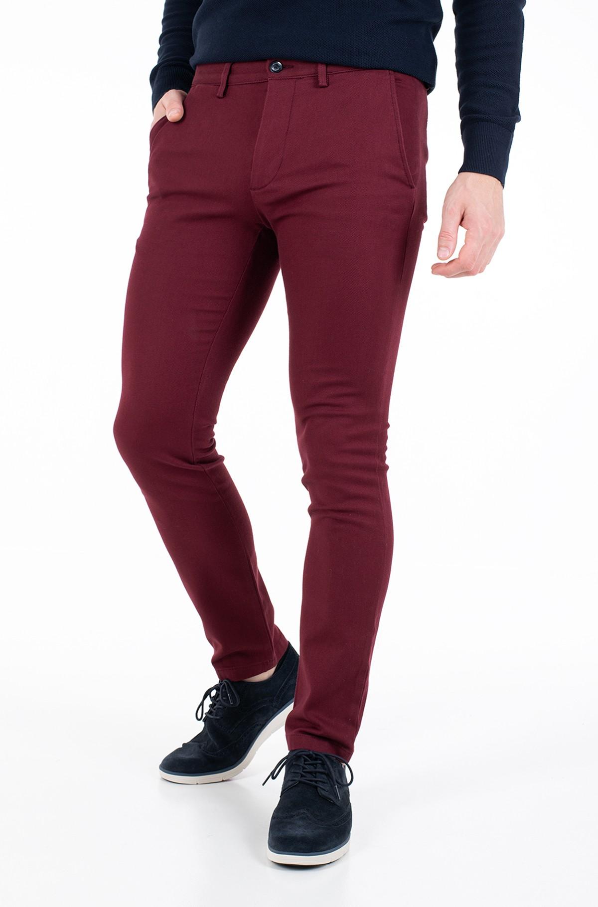 Kelnės su kantu BLEECKER FINE PD STRUCTURE-full-1