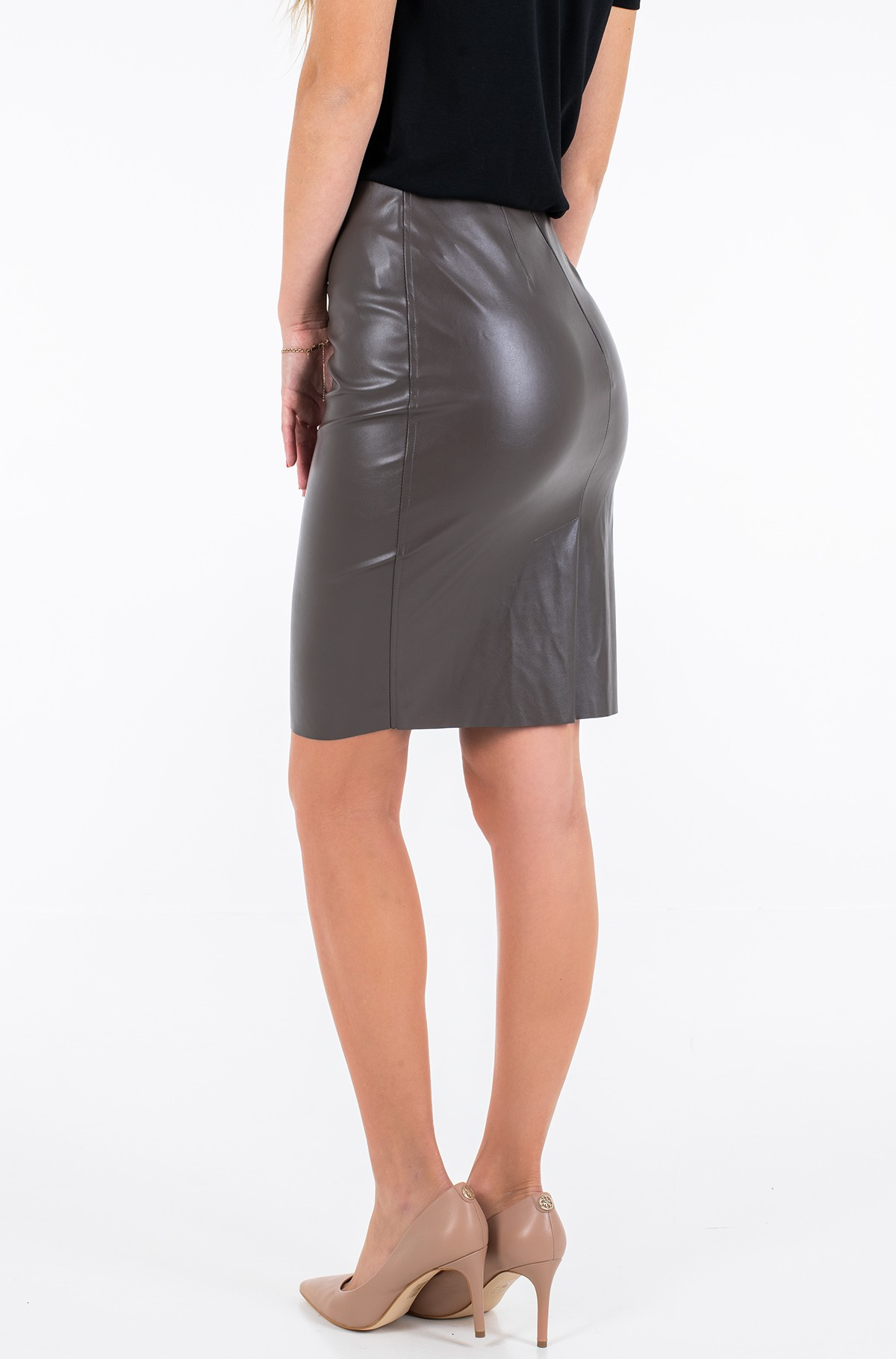 Leather skirt Agve02-full-2
