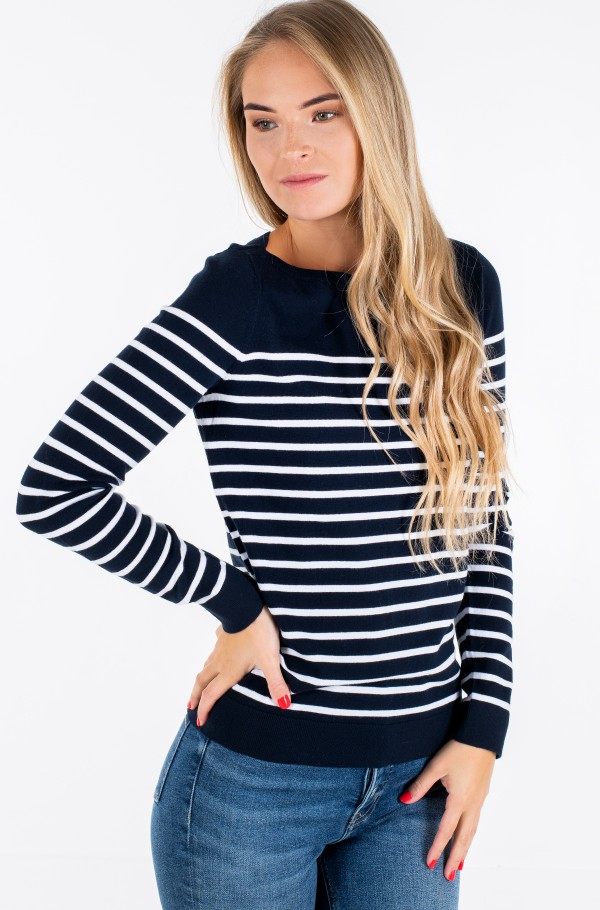 HERITAGE BOAT NECK SWEATER