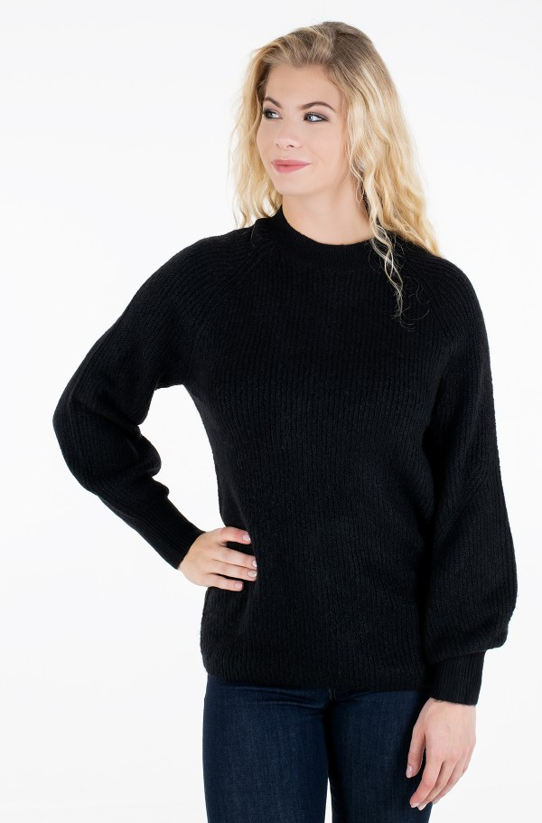 TJW LOFTY YARN CREW NECK SWEATER