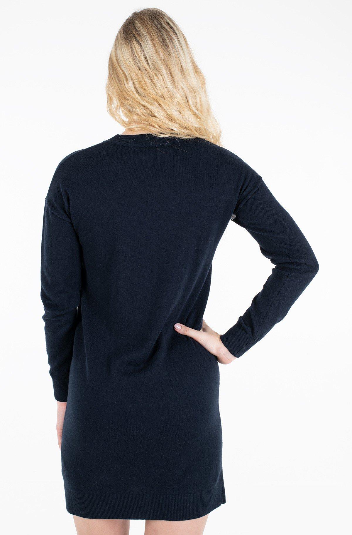 Kleit TOMMY HILFIGER C-NK DRESS LS-full-3