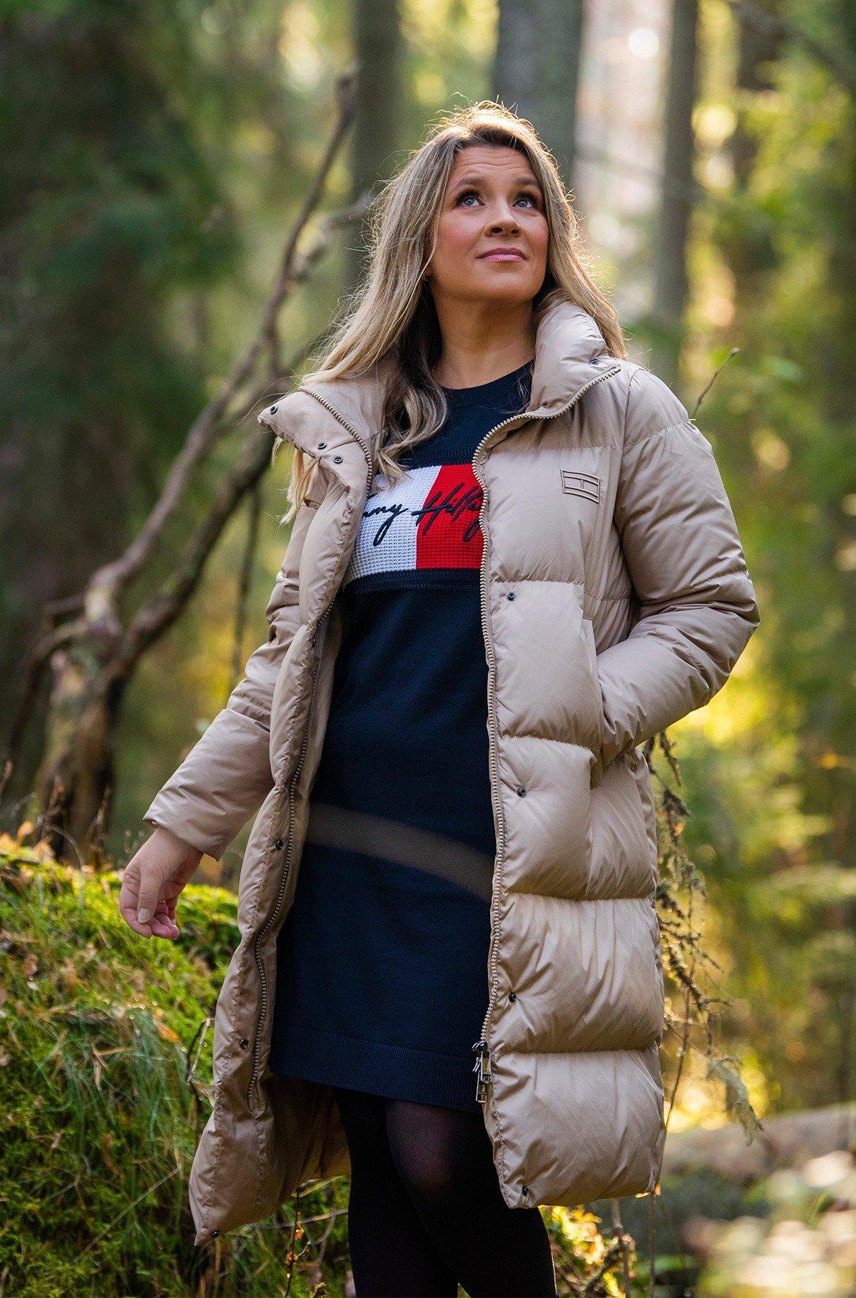 Kleit TOMMY HILFIGER C-NK DRESS LS-full-1