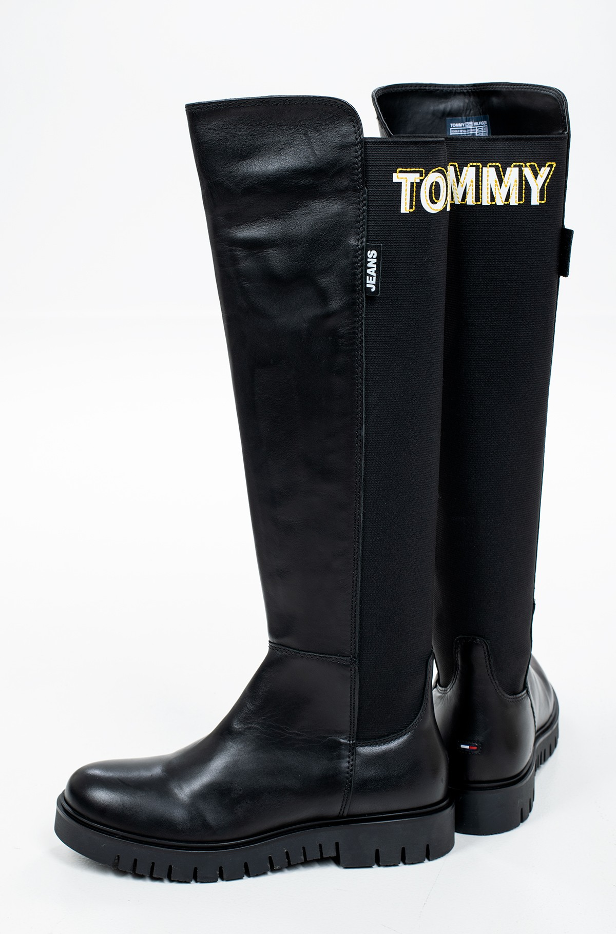 Saapad DOUBLE DETAIL LONG BOOT-full-2