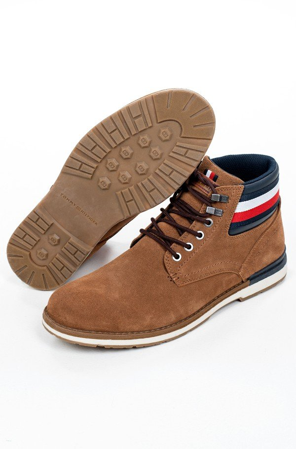 OUTDOOR SUEDE HILFIGER BOOT-hover