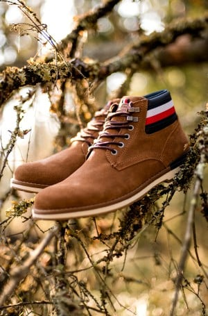 Poolsaapad OUTDOOR SUEDE HILFIGER BOOT-1