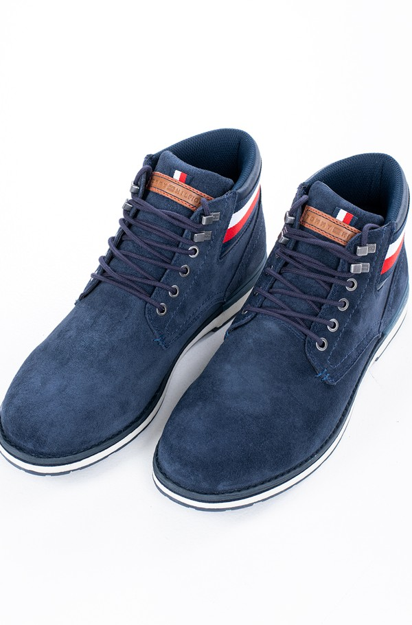 OUTDOOR SUEDE HILFIGER BOOT