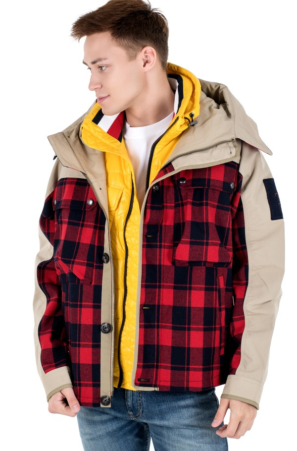 3 IN 1 CHECK JACKET-hover