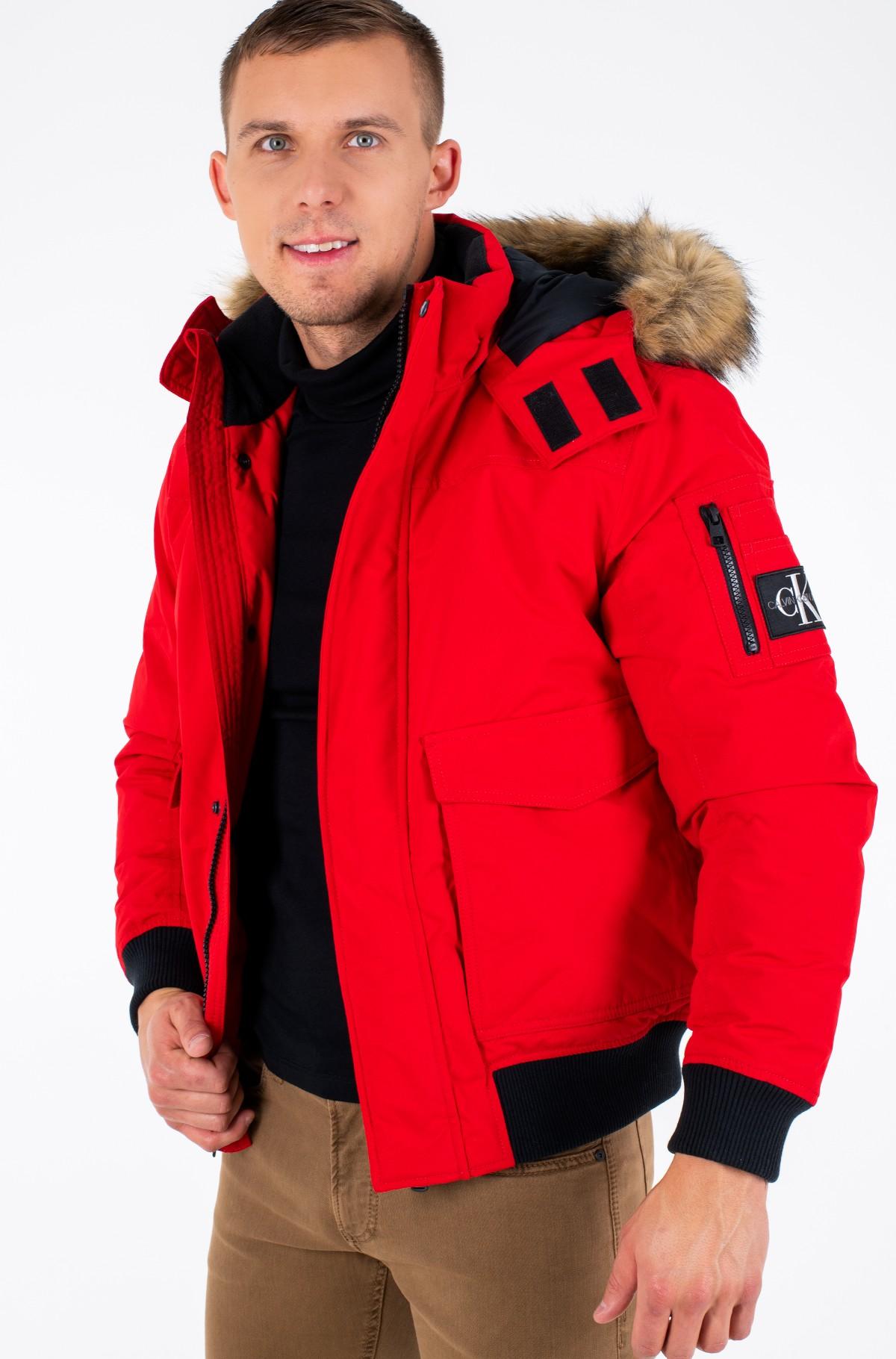 Jacket FUR TRIMMED DOWN JACKET-full-2