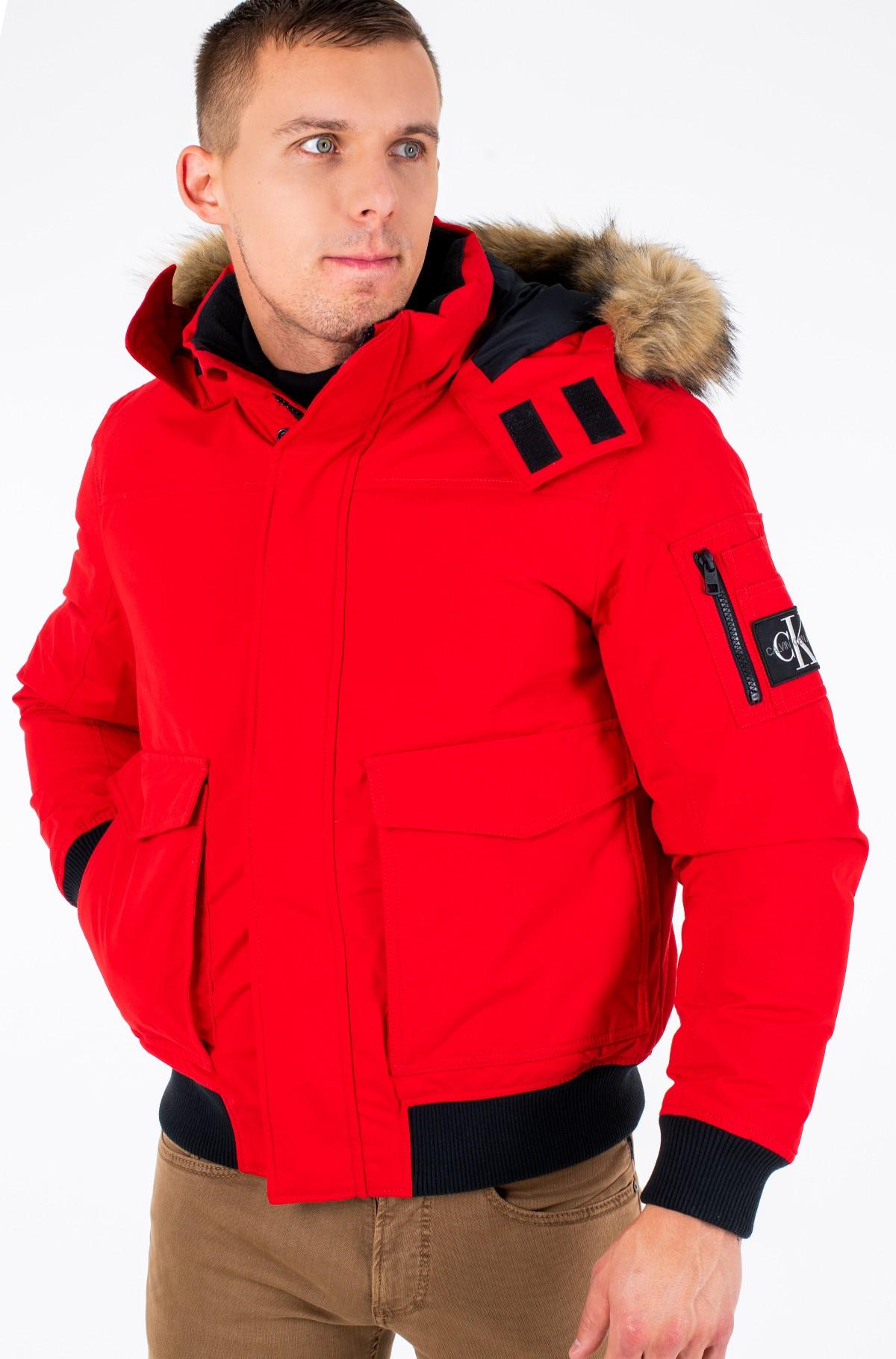 Jacket FUR TRIMMED DOWN JACKET-full-3
