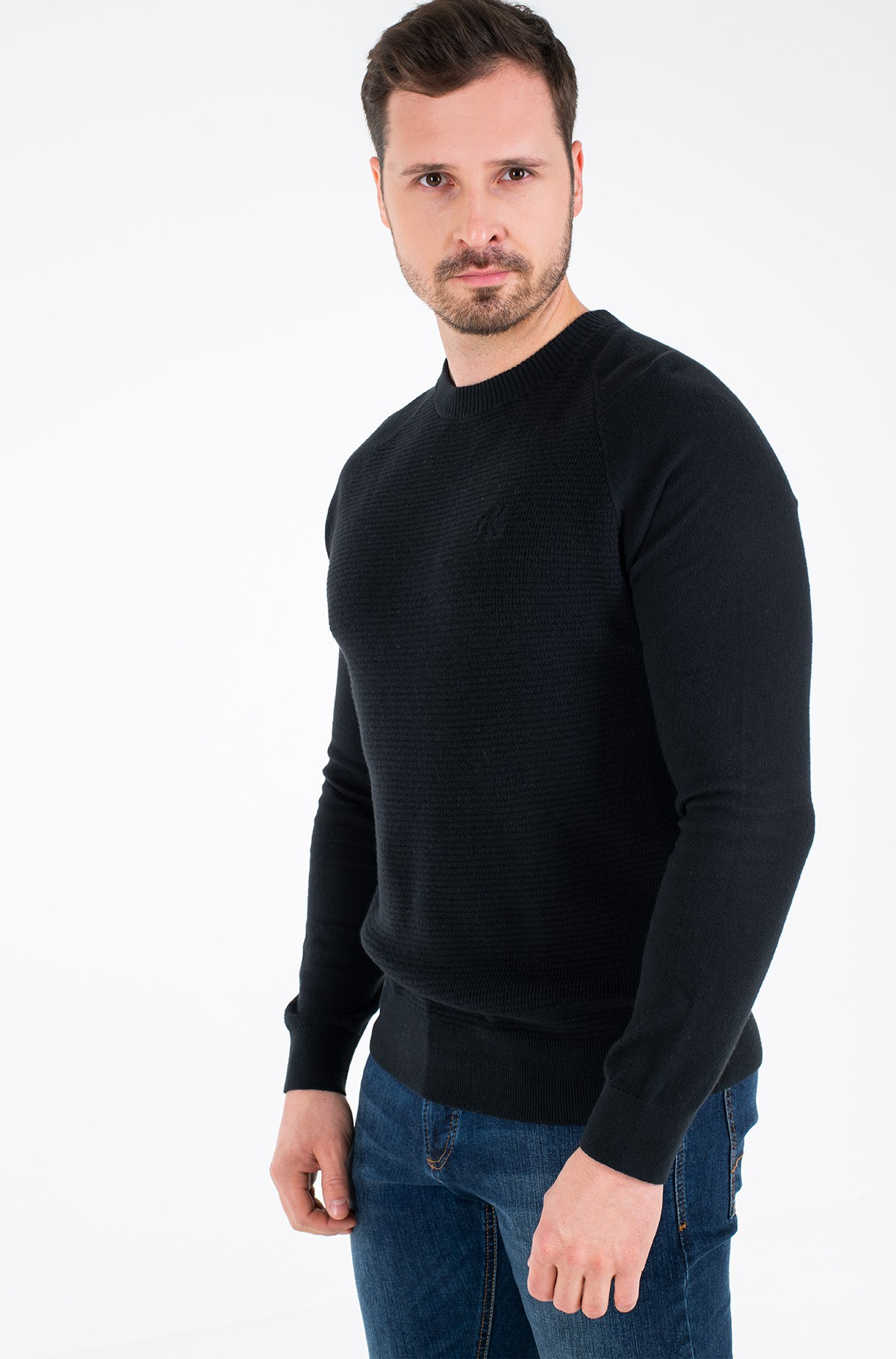 Sweater COTTON CASHMERE BLEND CN SWEATER-full-1
