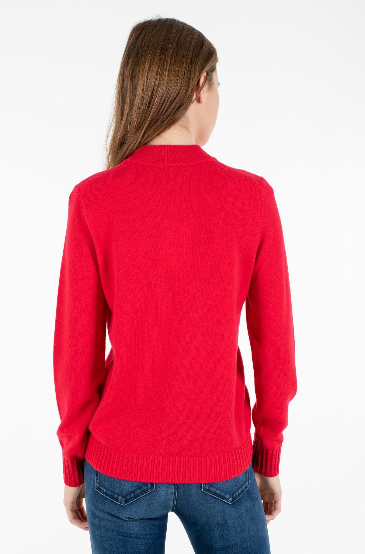 Sweater SP WOOL CASHMERE MOCK-NK SWEATER-full-2