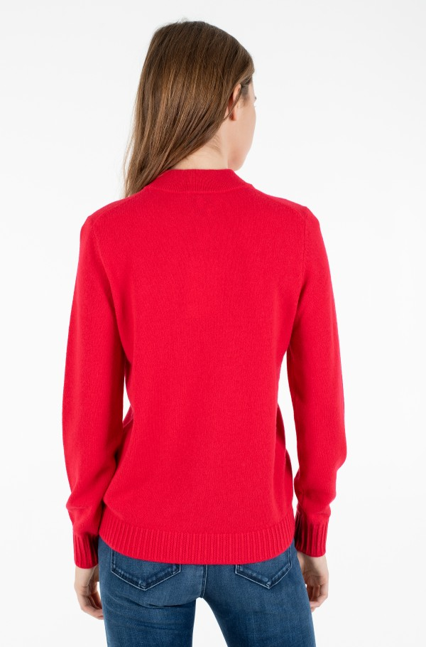 SP WOOL CASHMERE MOCK-NK SWEATER-hover
