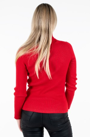 Sweater RIB ROLL NECK WITH CK-3