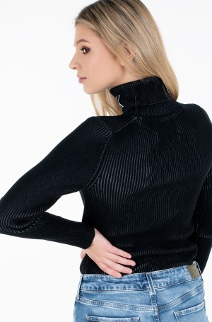 Sweater RIB ROLL NECK WITH CK-2
