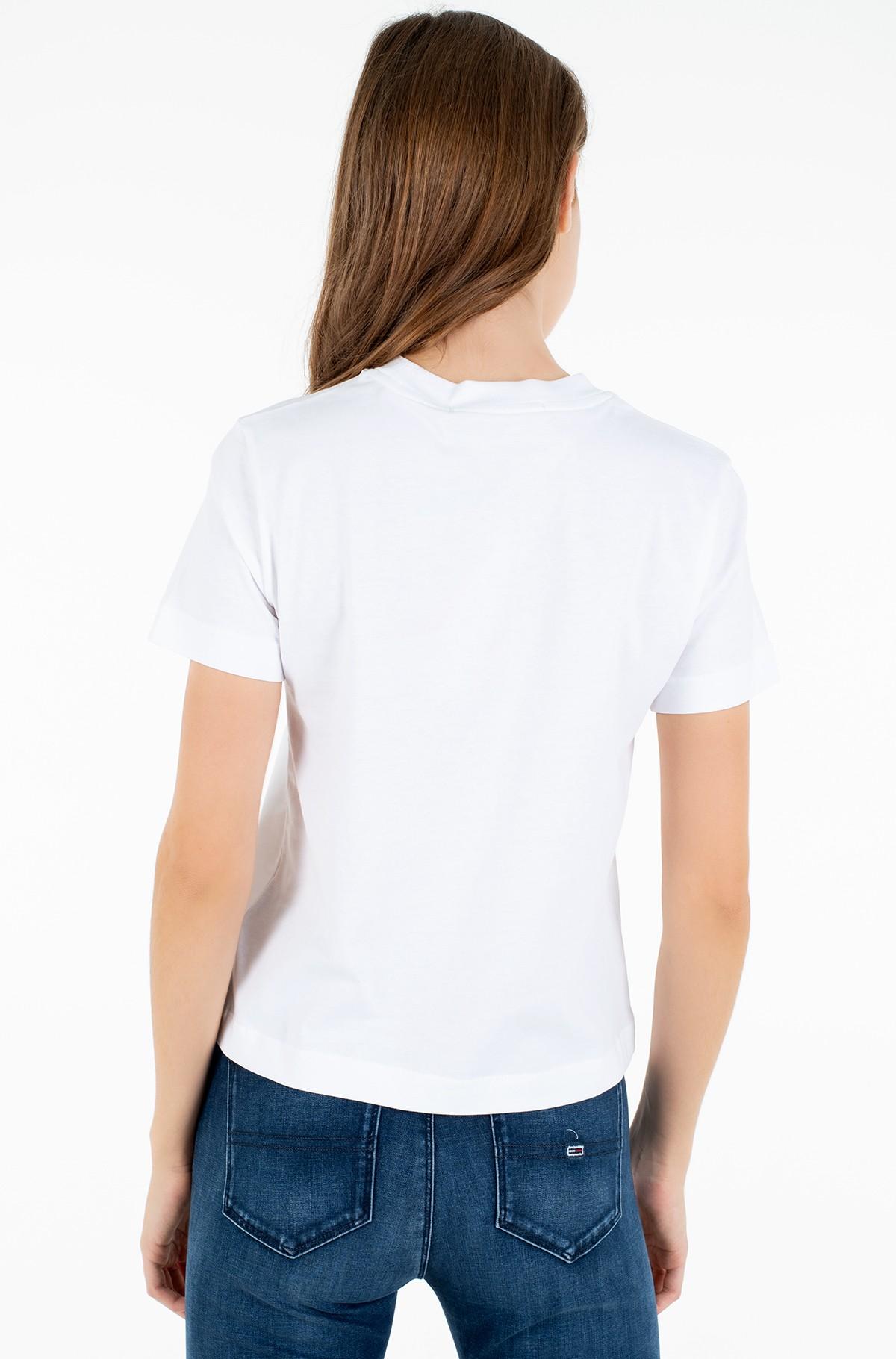T-shirt PRINT MIXED TEE-full-2