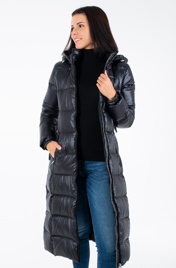 LOFTY DOWN BELTED MAXI COAT