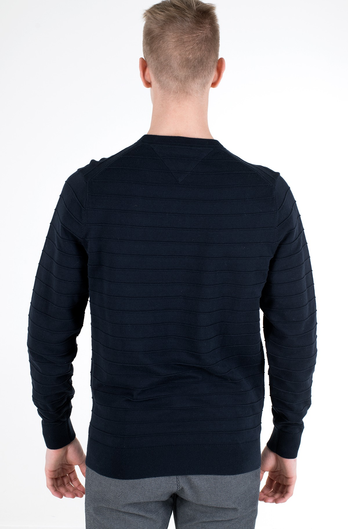 Knitwear RAISED STRIPE SWEATER-full-2