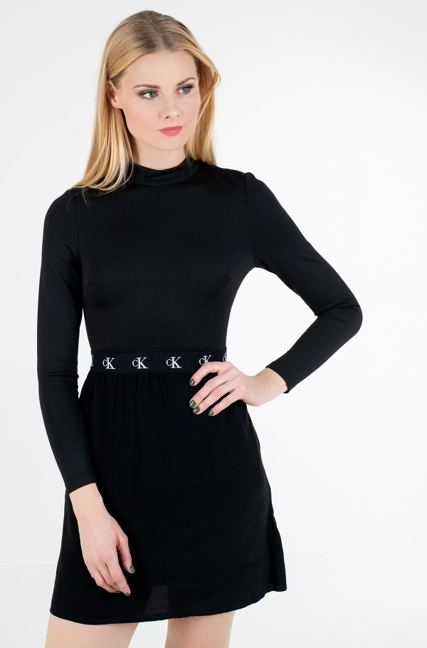 LOGO ELASTIC DRESS