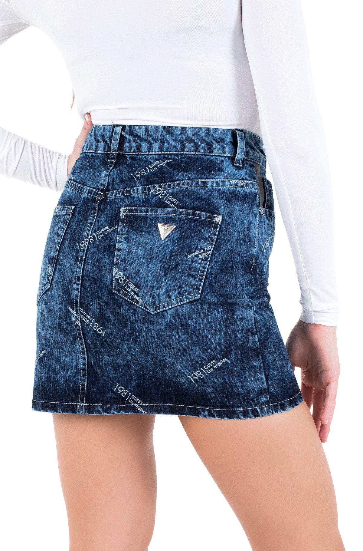 Denim skirt  W0YD92 D42D1-full-3