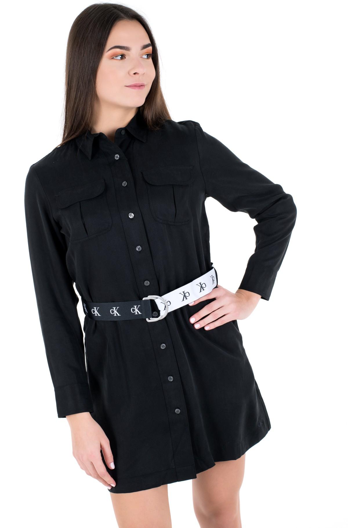 Dress UTILITY SHIRT DRESS-full-1