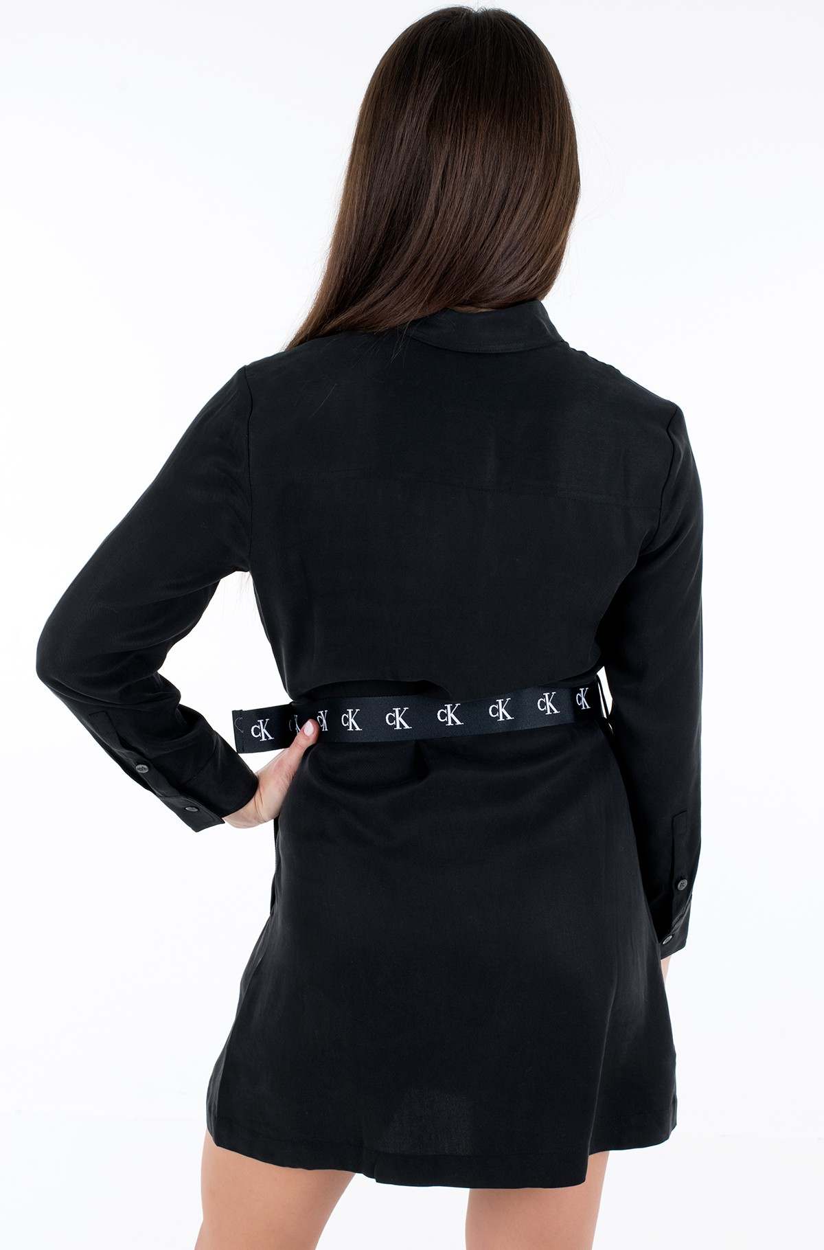 Dress UTILITY SHIRT DRESS-full-2