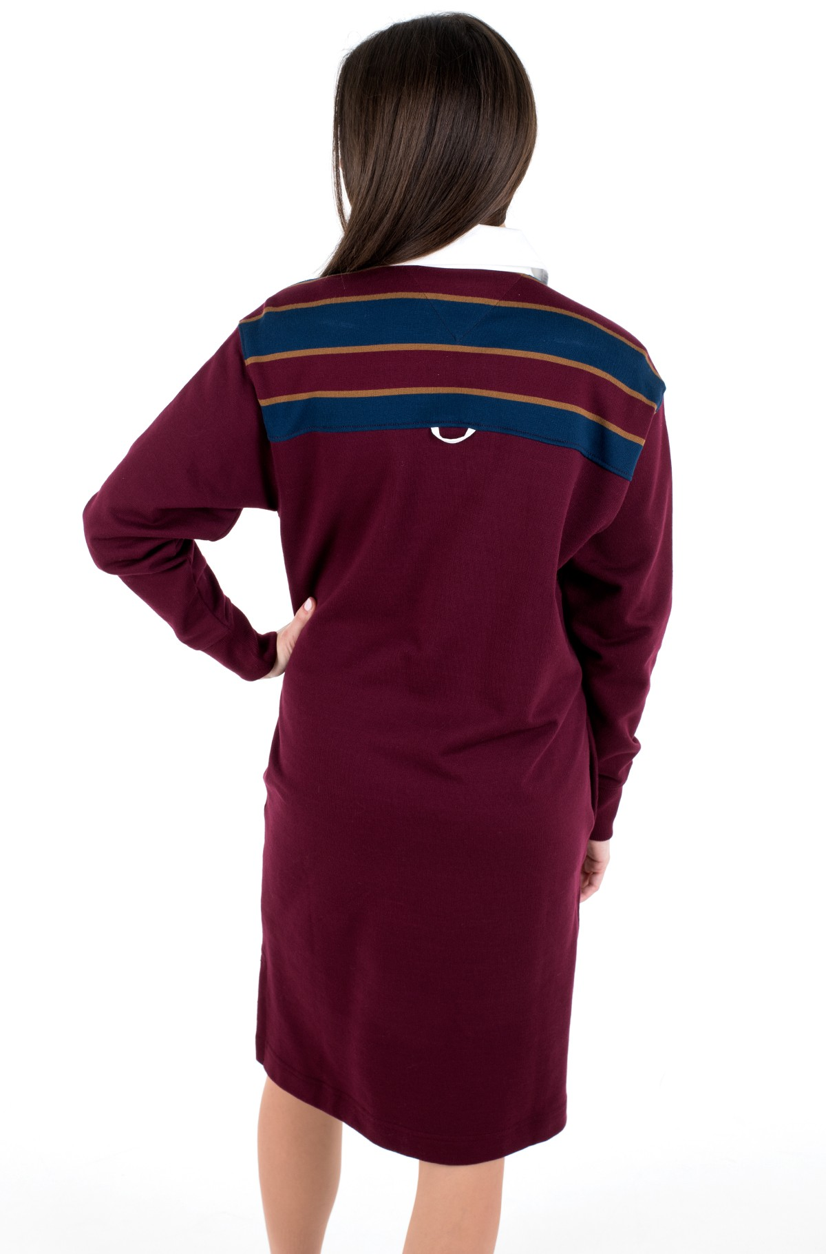 Kleit ICON OVERSIZED RUGBY DRESS LS-full-3