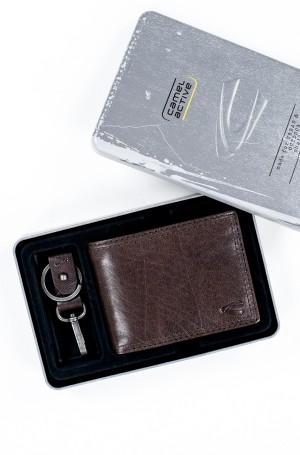 Wallet and a key chain in a gift box 288/701-2