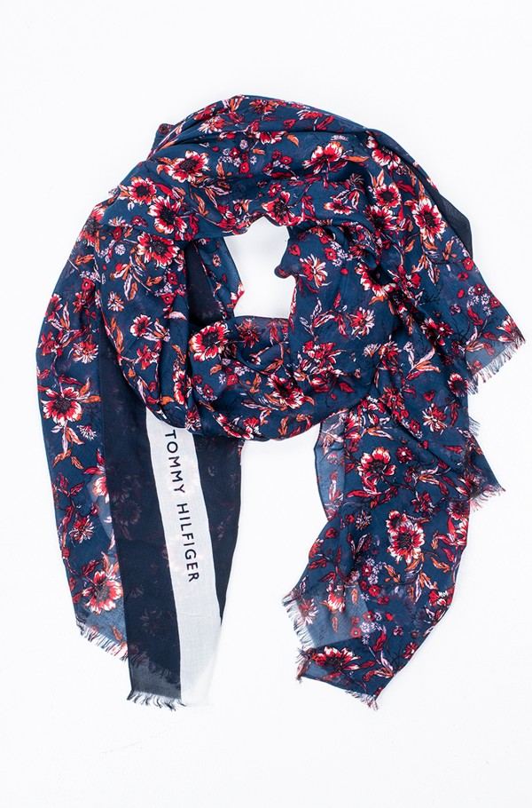 WILDFLOWER PRINT SCARF-hover