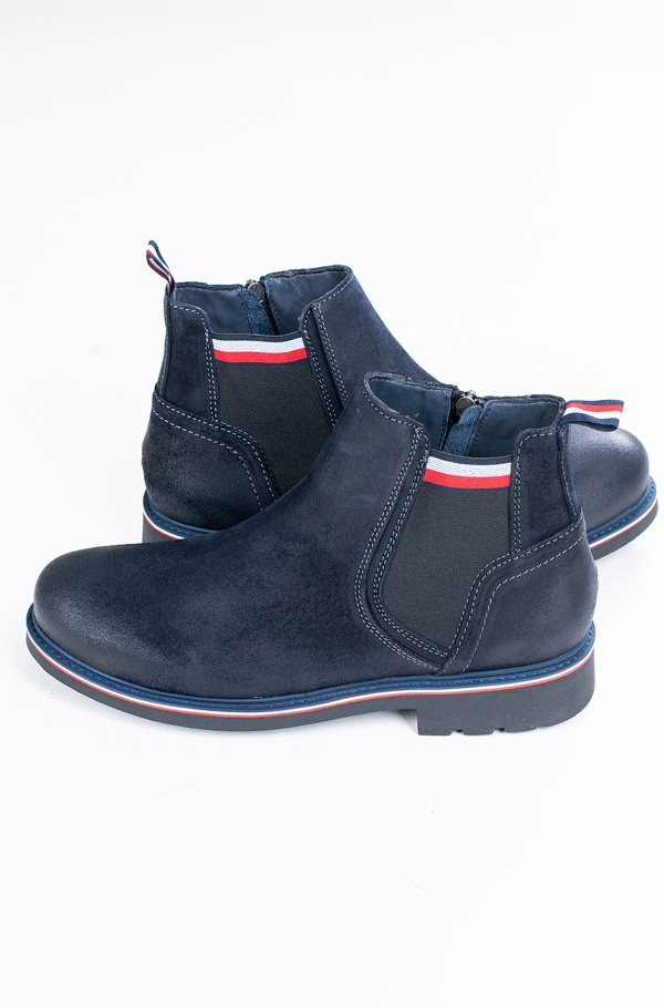 CORPORATE ELASTIC SUEDE BOOT-hover