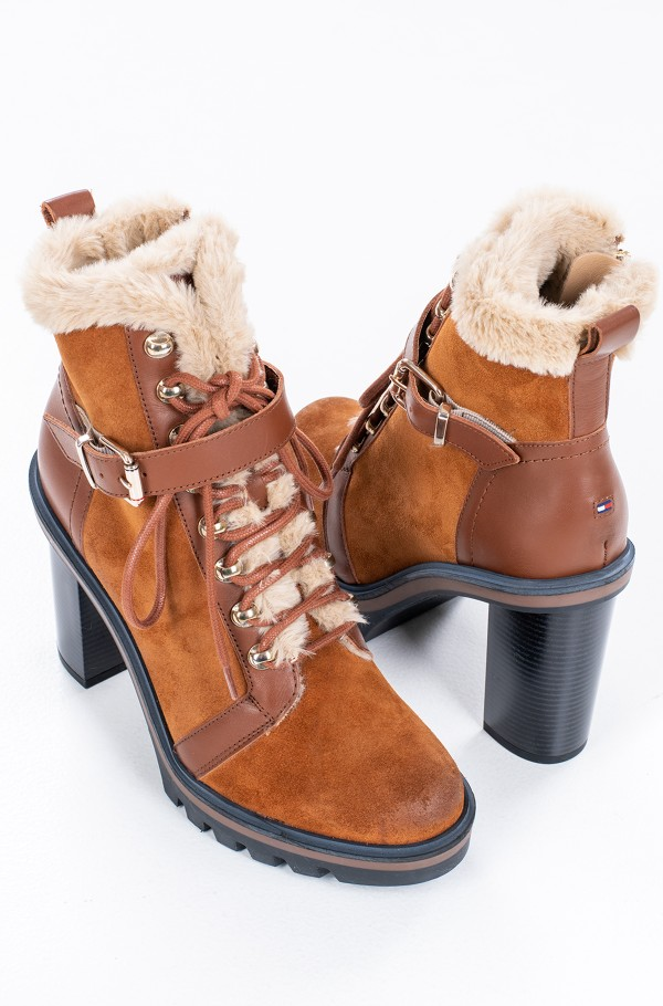 TOMMY WARM LINED HIGH HEEL BOOT-hover