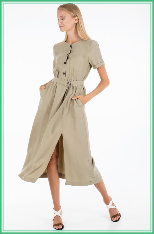 TENCEL TWILL DRESS SS
