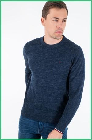 Sweater EXAGGERATED HEATHER CREW NECK-1