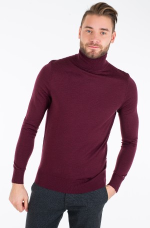 Knitwear FINE GAUGE LUXURY WOOL ROLL NECK-2