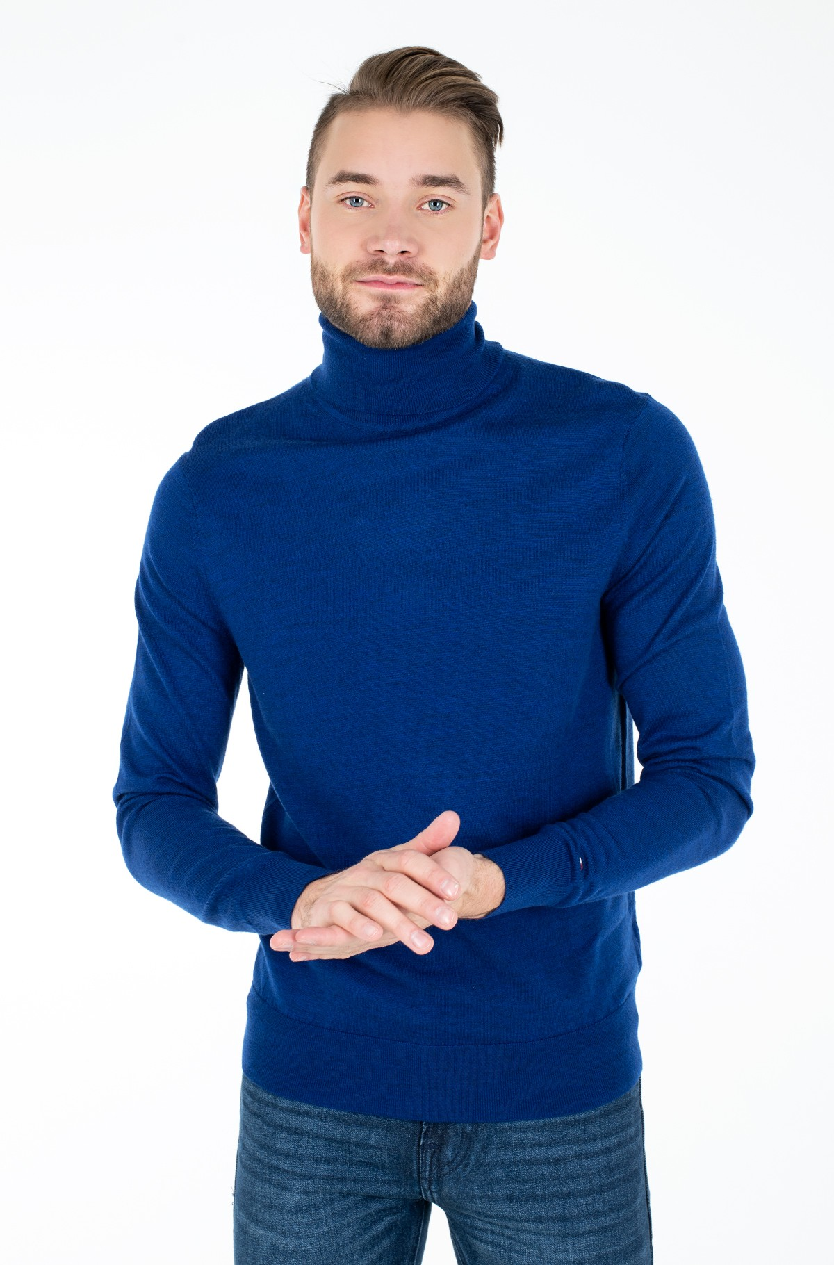 Knitwear FINE GAUGE LUXURY WOOL ROLL NECK-full-1