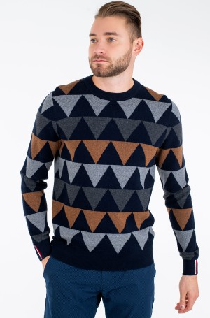 Džemperis MODERN ARGYLE CREW NECK-2