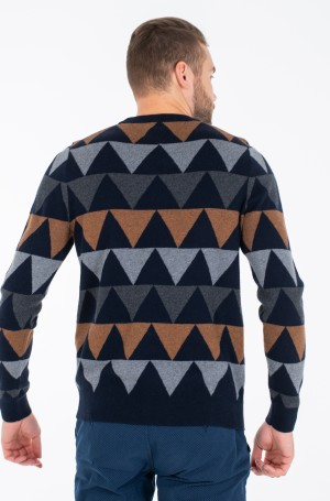 Džemperis MODERN ARGYLE CREW NECK-3