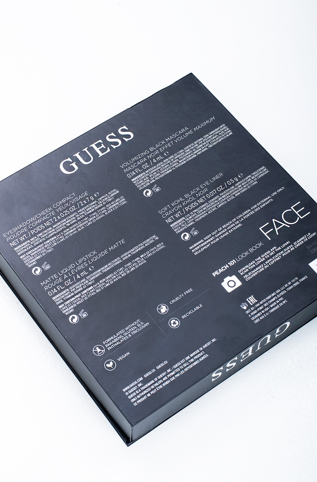 Kosmeetika komplekt Guess Season 1 Peach 101 FACE KIT-full-4