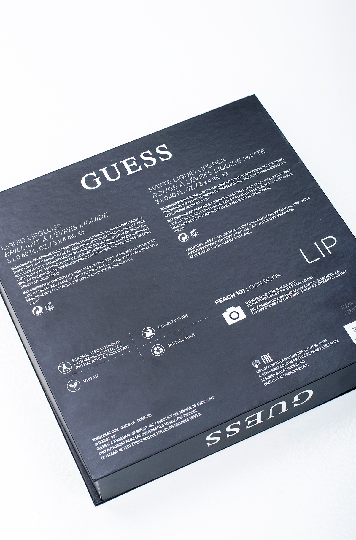 Kosmeetika komplekt Guess Season 1 Peach 101 LIP KIT-full-3
