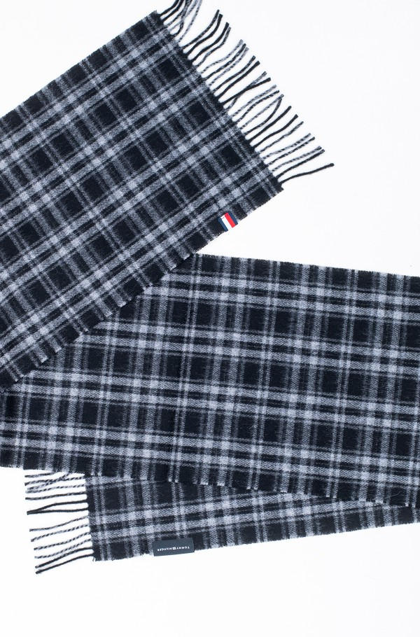 UPTOWN WOOL SCARF CHECK