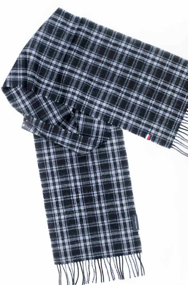 UPTOWN WOOL SCARF CHECK-hover