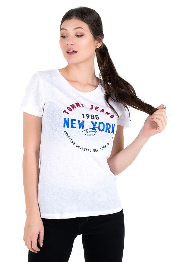 TJW CIRCLE NEW YORK TEE