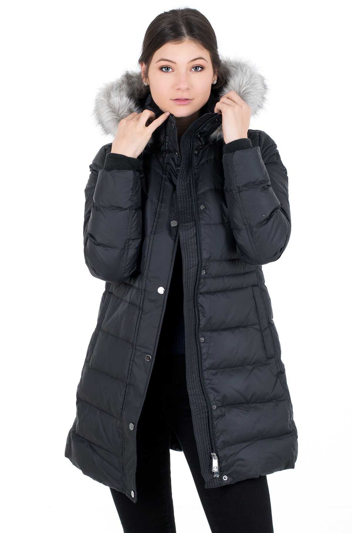 Pea coat NEW TYRA DOWN COAT-full-2