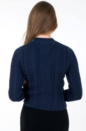 Sweater TJW BRANDED NECK CABLE SWEATER-2