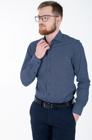 Marškiniai DOT PRINT CLASSIC SLIM SHIRT-1