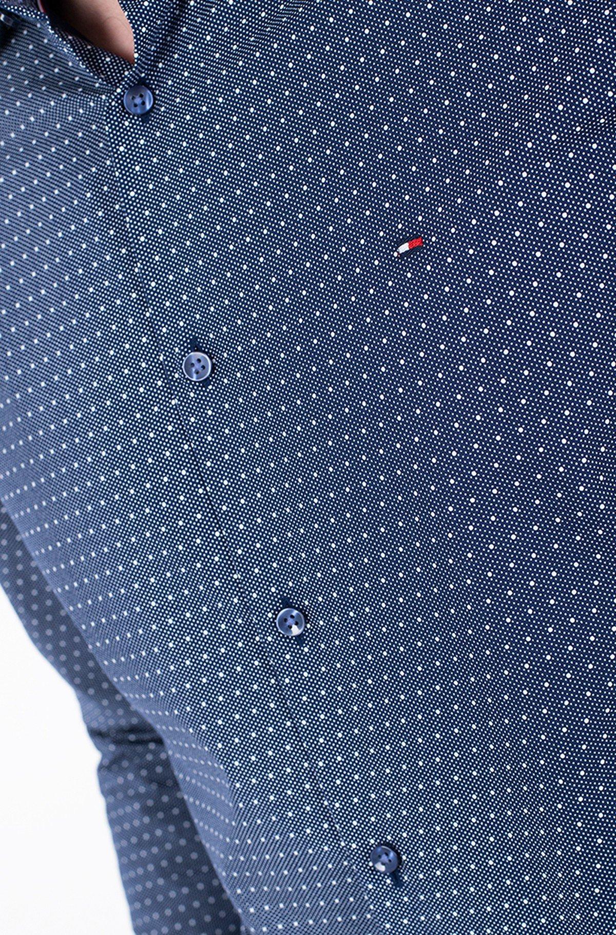 Marškiniai DOT PRINT CLASSIC SLIM SHIRT-full-2