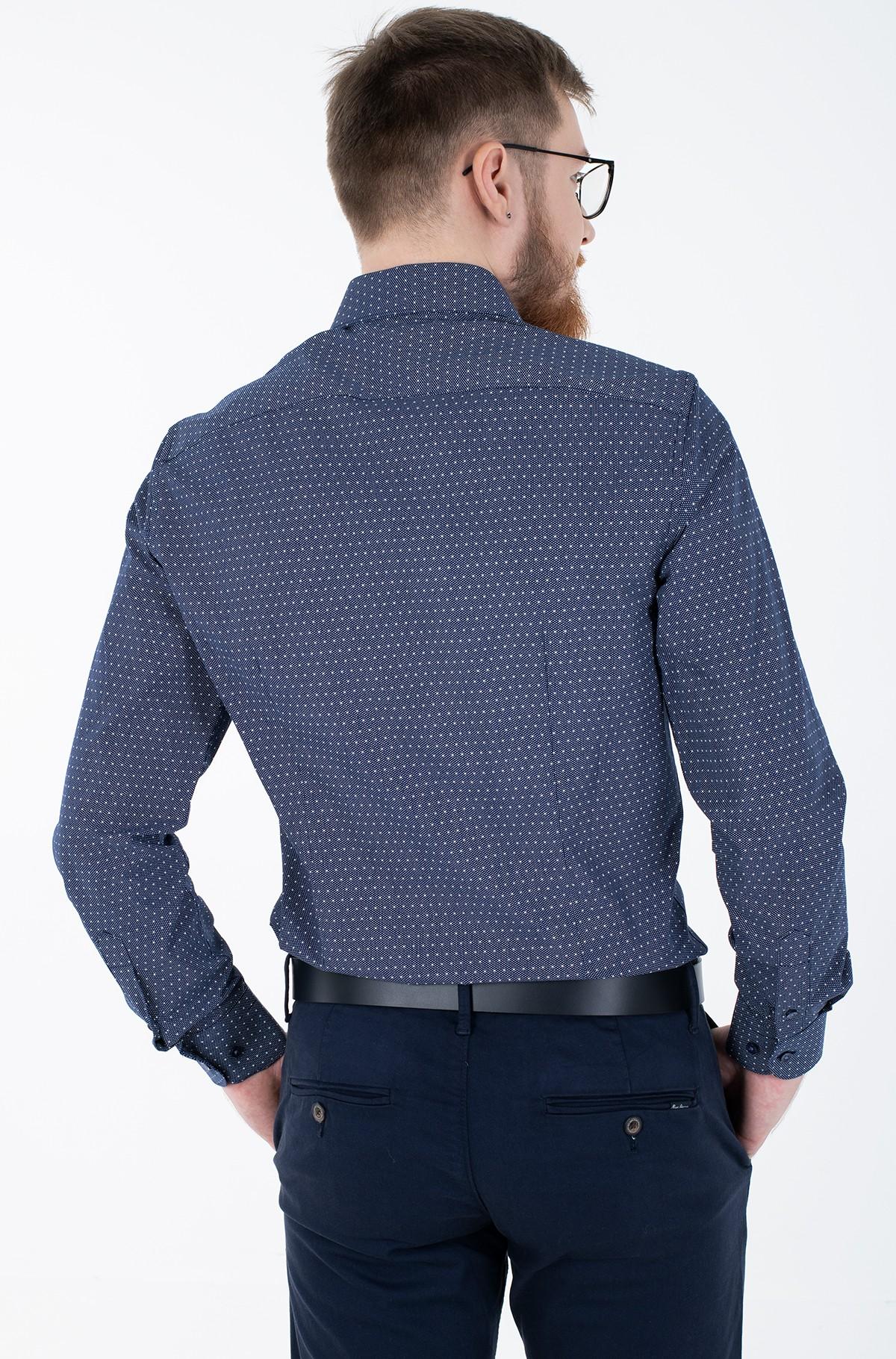 Marškiniai DOT PRINT CLASSIC SLIM SHIRT-full-3